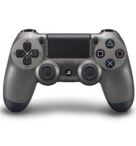 Геймпад DualShock 4 для PlayStation 4 (Стальной)
