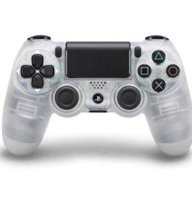 Геймпад DualShock 4 для PlayStation 4 (Прозрачный)