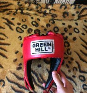 Боксёрский шлем GREEN HILL