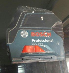 Лазерный уровень Bosch GCL 2-15