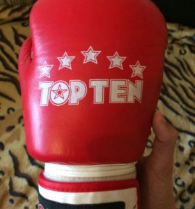 Боксёрские перчатки TOP TEN