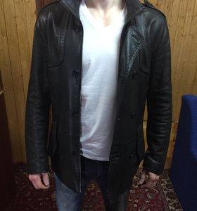 Новая натуральная кожаная куртка.