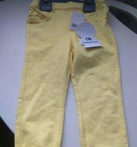 mothercareДжегинсы брюки мазекеа новые для девочки
