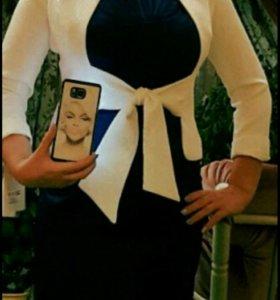 Элегантное женское платье + пиджак