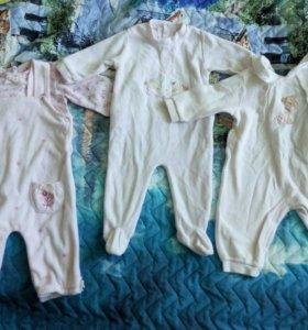 Одежда на девочку 3-6 месяцев