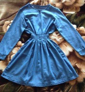 Платье 42-44 деним