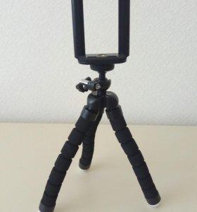 Универсальный штатив для телефона и фотоаппарата