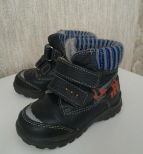 Демисезонные ботинки для мальчика 23 размер