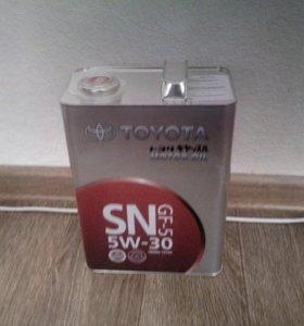 Продам масло 5w-30 Toyota 4 литра