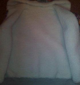 Меховая жилетка. Двустороняя куртка( весна)