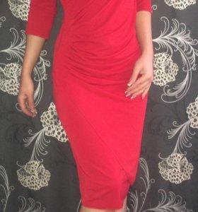 Красное платье Р 42