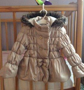 Куртка 9-12 мес