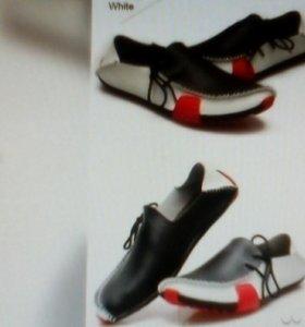 Новые мокасины. Ботинки.