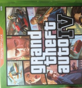 Игра на Xbox 360 GTA 4
