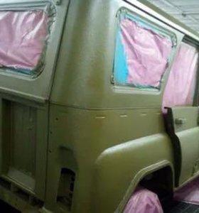 Покраска в раптор ваш авто