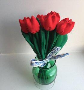 Цветы Тюльпаны тильда