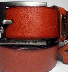 Ремень кожаный  Philipp Plein