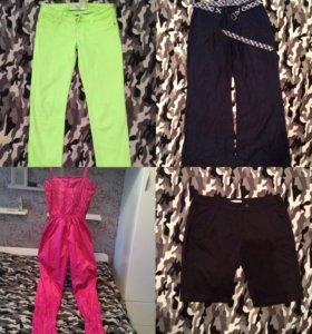 Джинсы, брюки, комбинезоны и тд