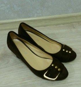 Туфли женские замша 36р