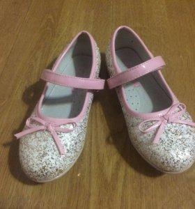 Туфли для девочки 30 р-р