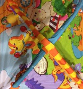 Детский развивающейся коврик Tiny love