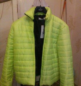 Куртка осень-весна, размер XXL