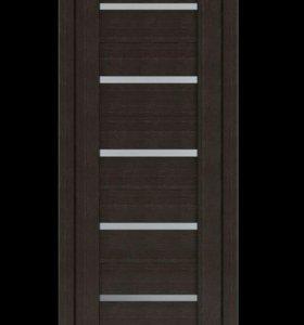 Межкомнатная дверь полотно Венге 7Х