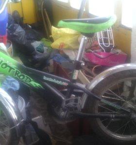 Велосипед на 5-9 лет