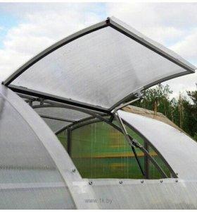 Боковая форточка для теплицы из поликарбоната