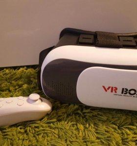 Vr box 2.0 + джойстик(новые)