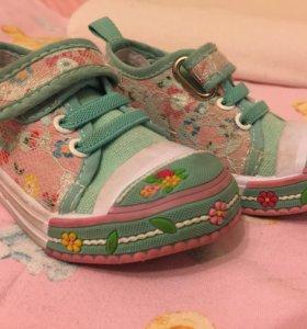 Кеды кроссовки для девочки