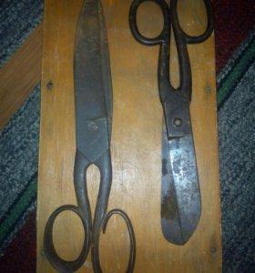Старинные ножницы. Портные.