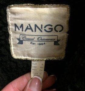 MANGO дубленка