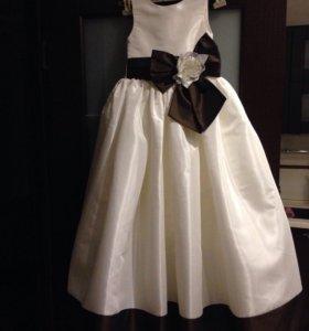 Платье для девочки р. 128-134