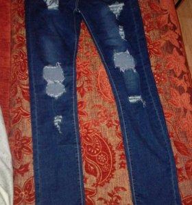 Новые женские джинсы стрейч
