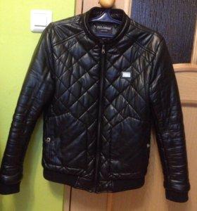 Куртка D&G эко-кожа весна- осень новая