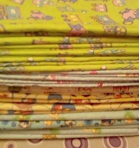 Новые пеленки 120*90см недорого
