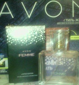 Парфюмерная женская вода AVON Femme
