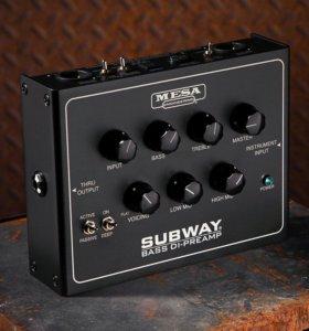 🎼 Mesa Boogie Subway Bass DI-Preamp