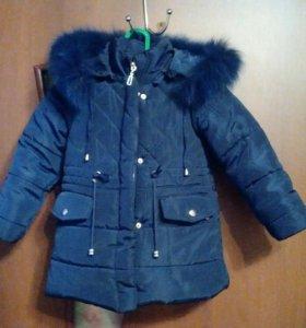 Детское зимнее пальто.