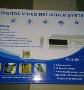 Система видео наблюдения для дома.
