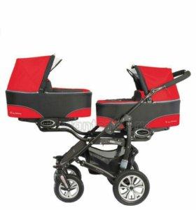 Коляска для двойни BabyActive Twinny.