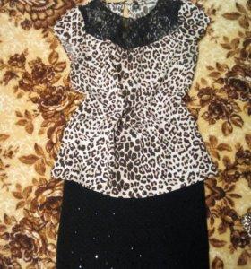 Юбка блузка