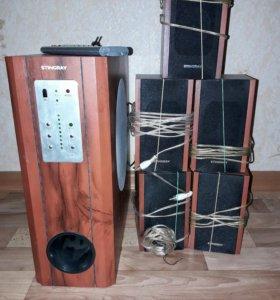 5.1-канальная акустическая система Stingray