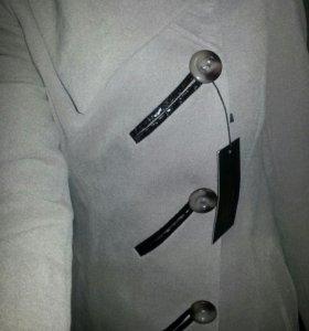 Пальто + сапоги новое