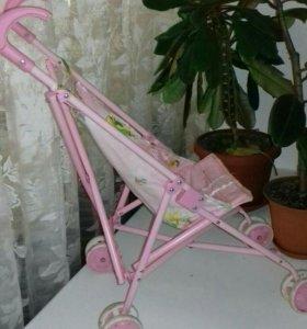 Кроватка и коляска для куклы