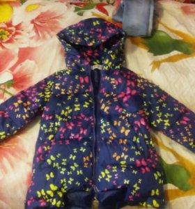 Куртка детская. Весна