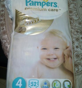 Подгузники Pampers premium care #4
