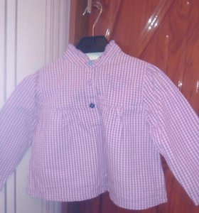 Рубашка ф.глория джинс р.74