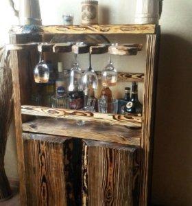 Шкаф винный под старину